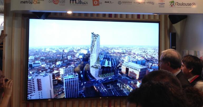 Découvrez le futur gratte-ciel de Toulouse — Occitanie Tower